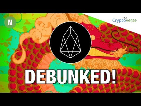 EOS Myth 👻 Debunked Why Did EOS Use Ethereum For ICO Token 🌎 Distribution? - Entrepreneur Explains