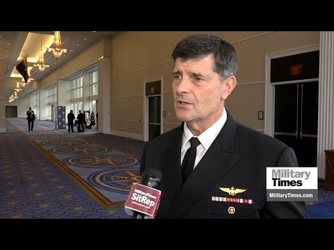 Navy personnel boss talks tattoos, gender-neutral job titles and more