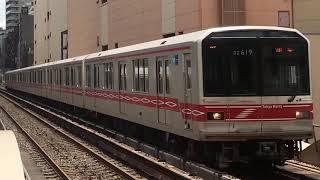 東京メトロ丸ノ内線 02系19F A線車外放送