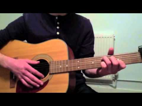 Mumford And Sons White Blank Page Guitar Lesson Youtube