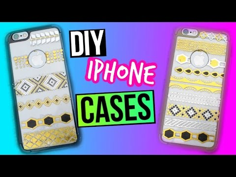 DIY iPhone Cases with Flash Tattoos   Tumblr Inspired!!!