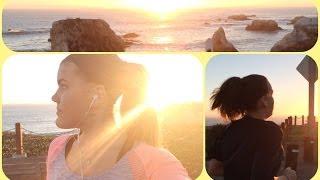 SUNSET RUN ADVENTURE! Vlogmas Day 23 ❅