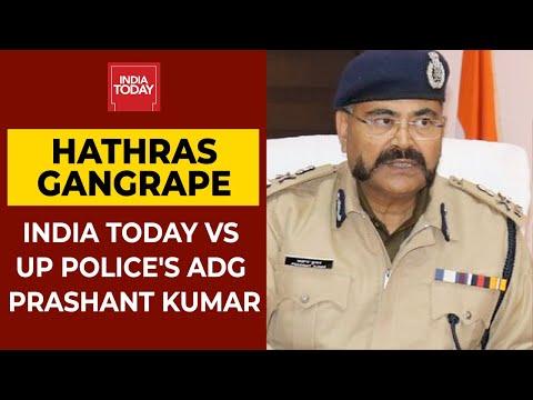 Hathras Gangrape Victim Cremated Forcefully? India Today Vs UP Police's ADG Prashant Kumar