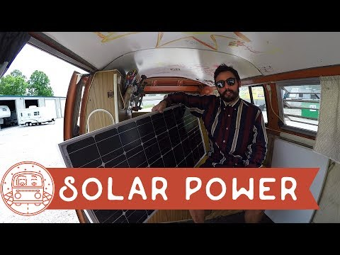 Vlog: Solar Panel Unboxing #VanLife