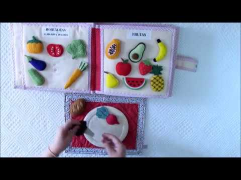 Pirâmide Alimentar Infantil - É hora de aprender brincando