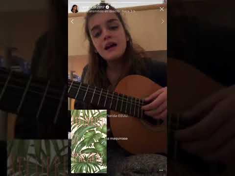 Amaia Romero - Recuerdos de Ypacarai (directo IG 11 de febrero)