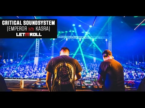 Critical Soundsystem (Emperor b2b Kasra) / Let It Roll Open Air 2016 - Madhouse stage