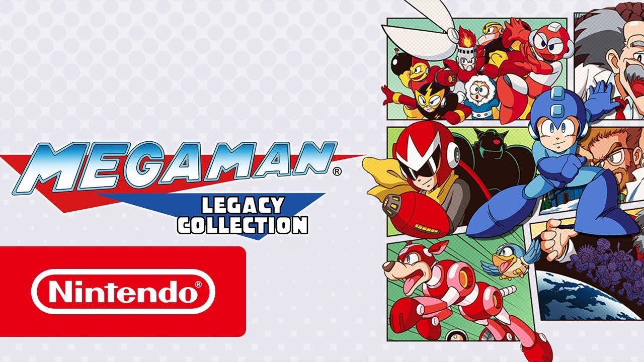 Mega Man Legacy Collection - Launch Trailer (Nintendo Switch)