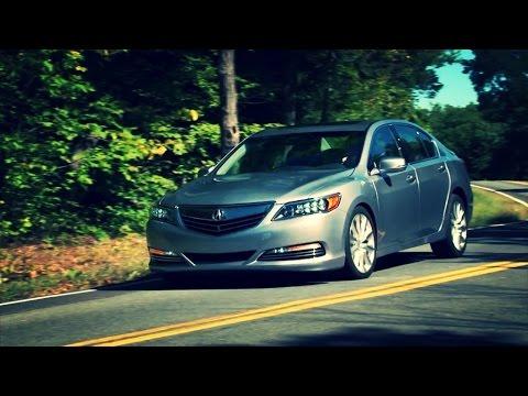 2016 Acura RLX Sport Hybrid - TestDriveNow.com Review By Auto Critic Steve Hammes