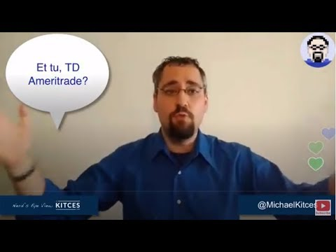 TD Ameritrade Sells Out NextGen Advisor-Client Platform Replacing 84% Of Its NTF ETF Lineup