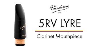 5RV Lyre Clarinet Mouthpiece - Vandoren