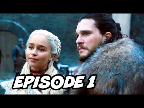 Game Of Thrones Season 8 Episode 1 - TOP 10 WTF and Easter Eggs
