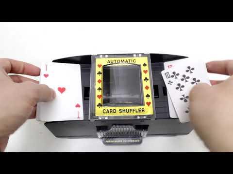 Шафл-машинка для перемешивания карт – обзор от магазина подарков «Счастливый случай»