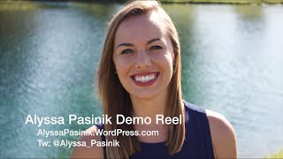 Alyssa Pasinik Multimedia Journalist Broadcast Demo Reel