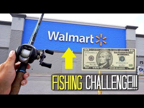 $10 WALMART FISHING CHALLENGE!!! --Can I DO IT?!