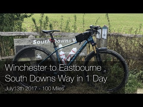 South Downs Way in a day - Winchester to Eastbourne