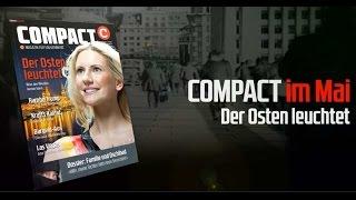 Der Osten leuchtet: Diskussion zu COMPACT 5/2017