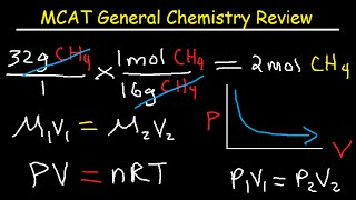 MCAT Test Prep General Chemistry Review Study Guide Part 1