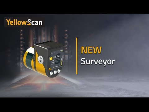 The New YellowScan Surveyor UAV LiDAR Mapping System - Introduction