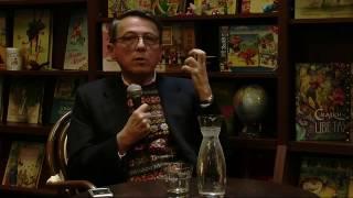 29 октября 2016 года. Встреча c Кристофом Баго. Книжное кафе