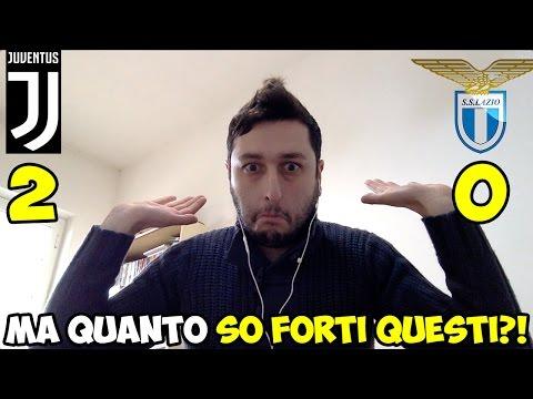 MA QUANTO CA##O SO FORTI?! JUVENTUS-LAZIO 2-0