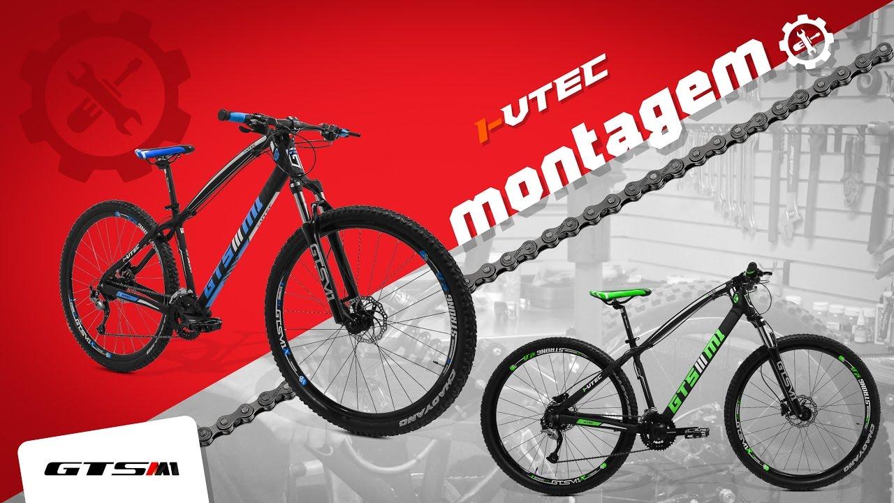 30df8f674 Montagem Bicicleta GTS I-VTEC aro 29 - YouTube
