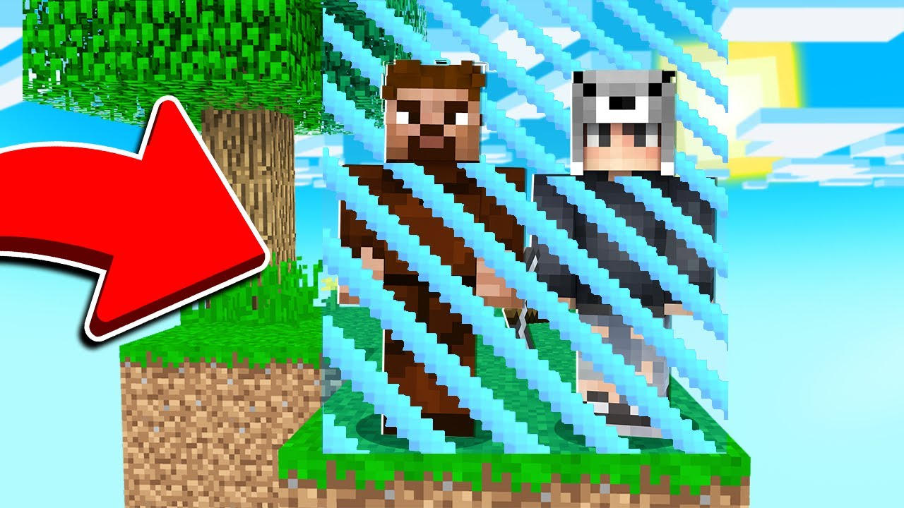 Download ADADA TEK BLOKTA HAPSOLDUK 😱 - Minecraft