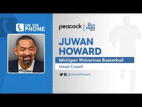 Michigan HC Juwan Howard Talks Recruiting, Too-Short Shorts & More with Rich Eisen | Full Interview