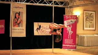 Miss Texas Pole Dance Competition 2011 - First Round - Fly Away