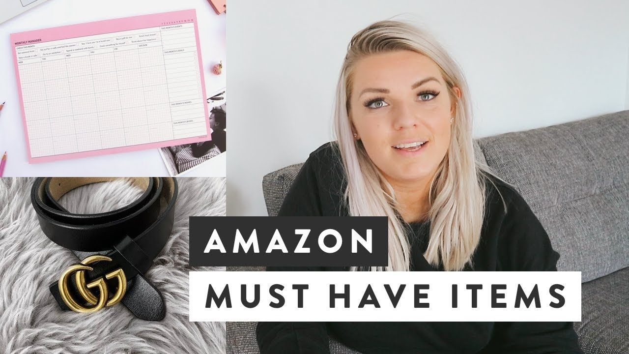 Amazon Must Haves | My Favourite Everyday Products