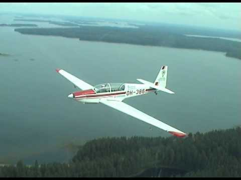 Formation flying with Fournier RF-5