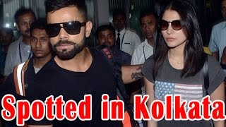 Virat-Anushka spend quality time together in Kolkata - TOI