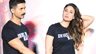 Ex lovers Shahid-Kareena Came Face to Face At  Udta Punjab Trailer Launch