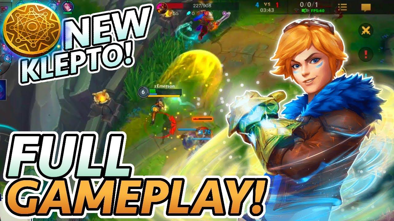 Wild Rift's Klepto Ezreal is BROKEN! (Full Game, English Commentary)   League of Legends: Wild