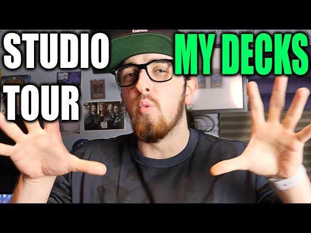 What Decks Do I Own + Studio Tour