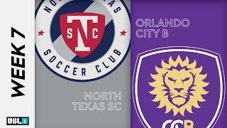 North Texas SC vs Orlando City B May 11th 2019