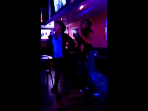Karaoke night in Omaha Nebraska lol