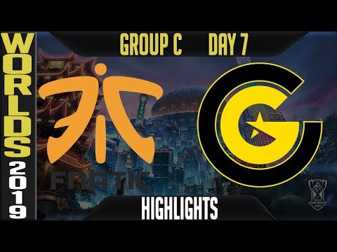 FNC Vs CG Highlights Game 2 | S9 Worlds 2019 Group C Day 7 | Fnatic Vs Clutch Gaming