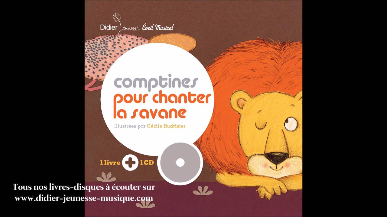Comptines pour chanter la savane le lion et la gazelle for Par la fenetre ouverte comptine
