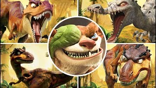 Ice Age 3: Dawn of the Dinosaurs All Bosses | Final Boss (PS3, X360, Wii, PS2, PC)