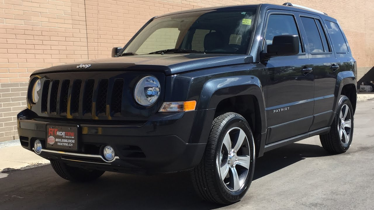 Jeep Patriot High Altitude >> 2016 Jeep Patriot High Altitude 4WD - Leather, Sunroof, Alloy Wheels, CRAZY LOW KMs - YouTube