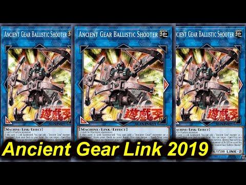 【YGOPRO】ANCIENT GEAR BALLISTIC SHOOTER DECK 2019