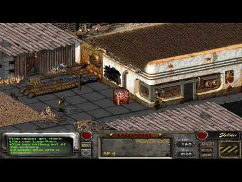 Fallout 2: How to get the Enclave power armor mark I - YouTube