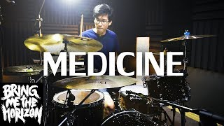 medicine - Bring Me The Horizon   Drum cover   บีมเอง Video