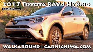 2017 Toyota RAV4 Hybrid XLE AWD   Walkaround   CarNichiWa.com