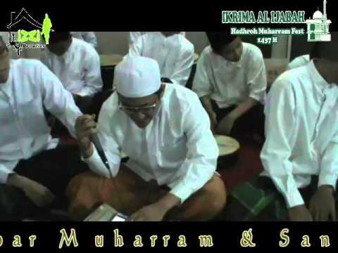 IKRIMA AL IJABAH, Pembacaan Maulid Nabi Muhammad (hadhroh Ikrima) muharram 1437 H