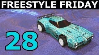 Rocket League   Freestyle Friday 28! (Freestyle Goals!)
