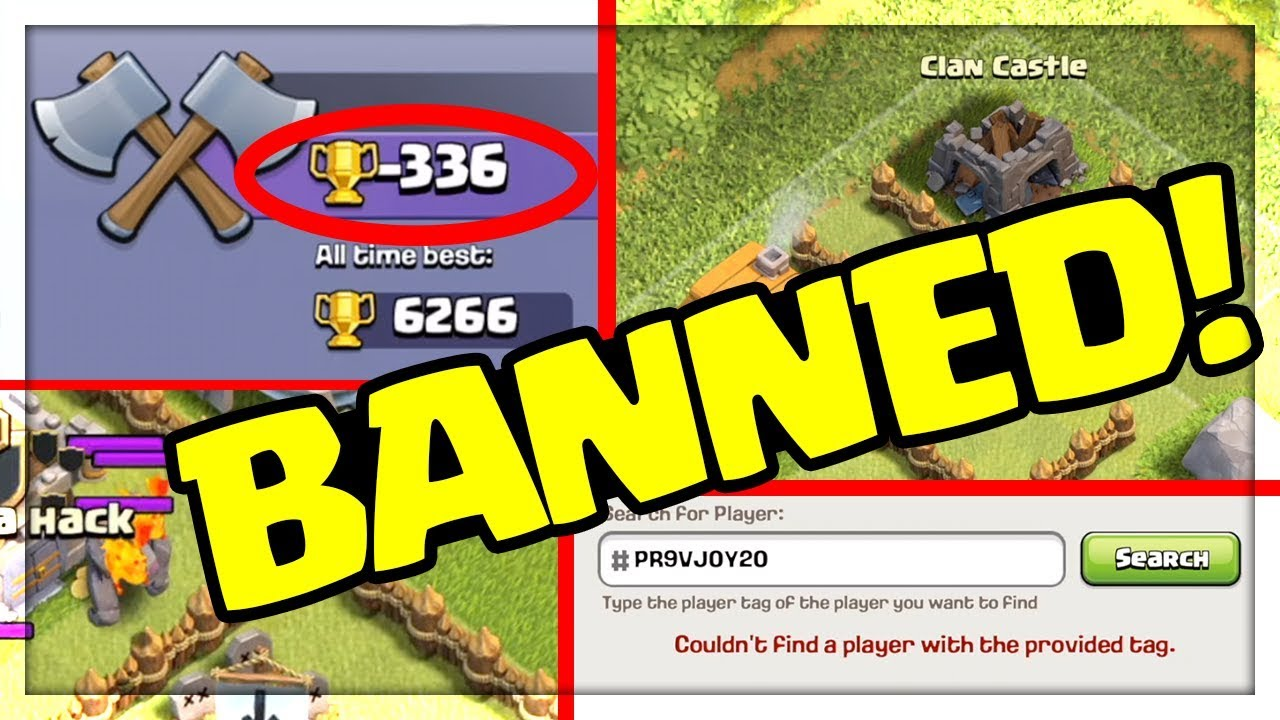 STRANGEST VILLAGES – BANNED in Clash of Clans!