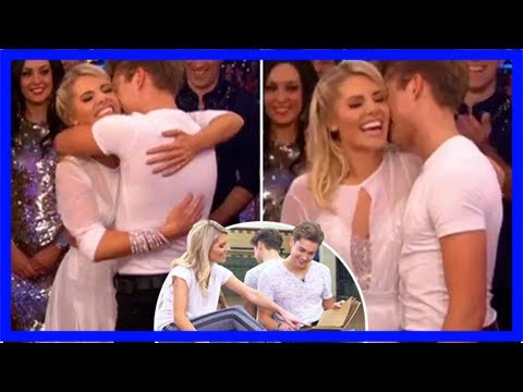 Strictly's mollie king gives aj a scrapbook of memories before romantic grease-themed rumba