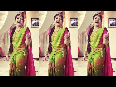 Suntv Serial Roja Actress Super Dance    Priyanka Cute Videos